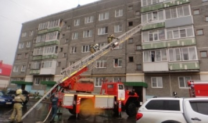 Неисправность микроволновки привела к пожару в квартире