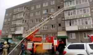 Неисправность микроволновки привела к пожару в котласской квартире