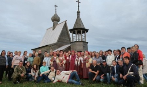 В Кенозерье проходит девятый фестиваль «ТОСы Поморья»