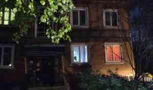 В Архангельске двухэтажный дом сошёл со свай