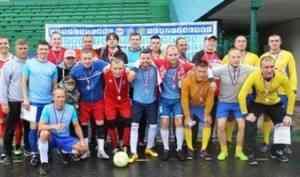 Команда Архангельска - победитель турнира по мини-футболу спартакиады «Начни с себя - 2019»