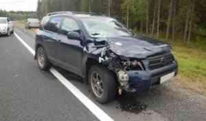 В Холмогорском районе водитель «Тойоты» насмерть сбил пенсионера