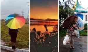 Сезон дождей начался: как в архангельских инстаграмах воспевают непогоду этих выходных