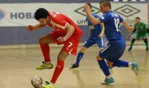 «Северная Двина» добыла первую победу напервенстве России помини-футболу