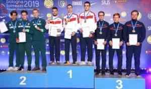 У стрелка Савелия Тряпицына - второе золото чемпионата Европы!