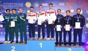 Снова первый: северодвинский стрелок Савелий Тряпицын завоевал второе золото на чемпионате Европы