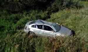 В Коношском районе водитель иномарки погиб, съехав в кювет