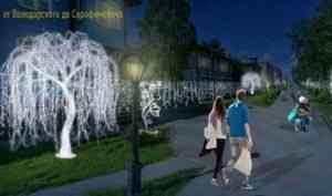 Новая иллюминация на проспекте Чумбарова-Лучинского появится к первому декабря