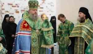 Митрополит Корнилий впервые посетил Антониево-Сийский монастырь