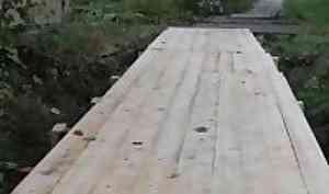 В Архангельске 4,7 млн рублей потратят на ремонт деревянных мостков