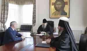 Митрополит Корнилий провел встречу с директором ООО «РВК-центр»