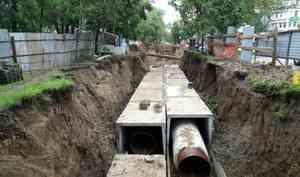 В Архангельске перекроют Обводный канал для ремонта теплотрассы