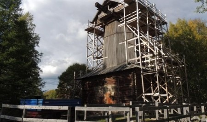 В «Малых Корелах» началась реставрация самой крупной мельницы