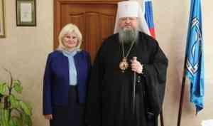 Митрополит Корнилий и ректор СГМУ Любовь Горбатова договорились о сотрудничестве