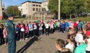 В школах Новодвинска проводятся занятия по эвакуации