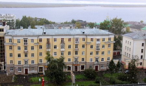 В Архангельске выпал первый снег