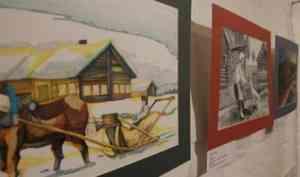 Абрамовскую Верколу глазами художников покажут в Гостиных дворах