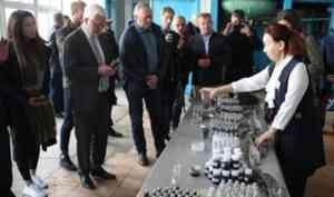 Норвежцы намерены развивать сотрудничество с Архангельским опытным водорослевым комбинатом