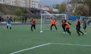В  Международный день студенческого спорта в САФУ состоялись соревнования по мини-футболу