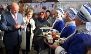 Открытие Маргаритинской ярмарки в Архангельске
