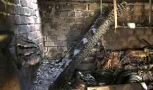 Двое мужчин погибли при пожаре в ГСК «Прибой» (г. Северодвинск)