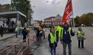 «Вышли бы все — хватило бы двух митингов»: онлайн-репортаж с антимусорных протестов в Архангельске