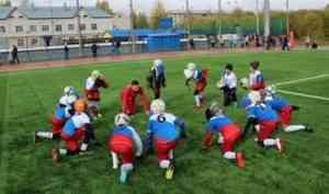 Обновленный стадион «Салют» в Котласе - старт для новых спортивных побед