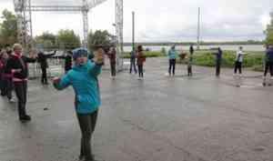 Жители Онеги сделали «10 тысяч шагов к здоровой жизни»