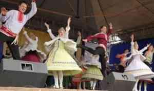 В песнях и танцах – о любви к родному Северу: ансамбль «Сиверко» выступил на Маргаритинке