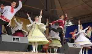 Ансамбль «Сиверко» выступил на закрытии Маргаритинской ярмарки