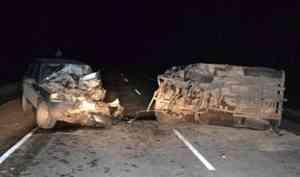 ВПинежском районе вДТП погибла 16-летняя девушка