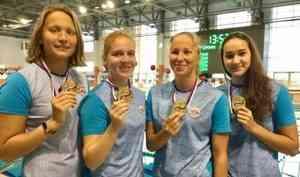 Пловцы Поморья завоевали 68 медалей начемпионате ипервенстве СЗФО