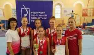 Юные гимнасты Поморья взяли «золото» и «бронзу» на первенстве Северо-Запада