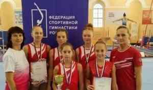 Золото и бронзу СЗФО России завоевали гимнасты Поморья