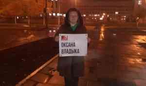Архангельской экоактивистке, у которой прошел обыск из-за порно, присвоили статус свидетеля