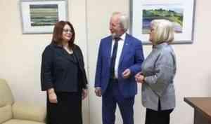 Архангельск посетил президент Российской библиотечной ассоциации