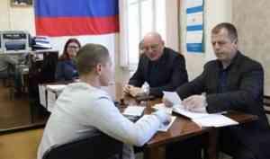 В Архангельске началась отправка призывников в войска