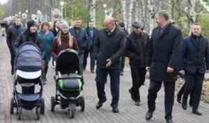 В Архангельске открыли Майский парк