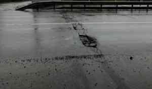 В Архангельске движение по мосту через Соломбалку будет ограничено