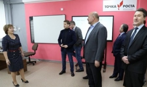 Губернатор Архангельской области Игорь Орлов находится в рабочей поездке в Няндомский район
