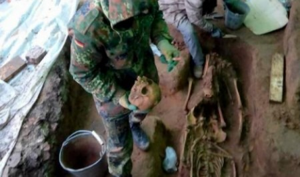 Во время раскопок в Петровском сквере археологи обнаружили древнее кладбище