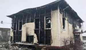 Добровольные пожарные отстояли от огня д. Острова (Приморский район)