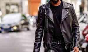 Из чего делают мужские кожаные куртки?