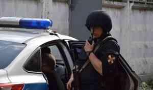 В Северодвинске сотрудники Росгвардии задержали подозреваемого в краже товаров из архангельского магазина