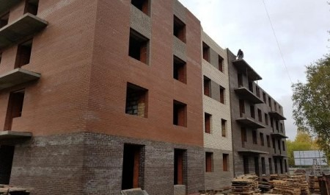 На ЖК «ISadovaya» холдинга «Аквилон Инвест» ведут кладку стен 5-го этажа