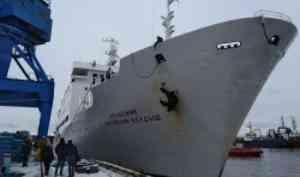 Из Арктики вернулось Научно-исследовательское судно «Академик Мстислав Келдыш»