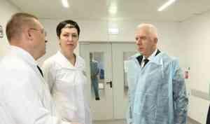 В Архангельск с рабочим визитом прибыл полпред президента Александр Гуцан