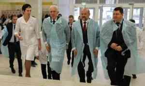 В Архангельске с рабочим визитом находится полпред президента в СЗФО