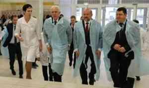 В Архангельск прибыл полпред президента в СЗФО Александр Гуцан