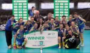Команда «Наука-САФУ» выиграла Кубок Европы по флорболу